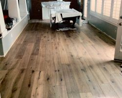 wood floor room