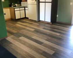 wood floor kitchen